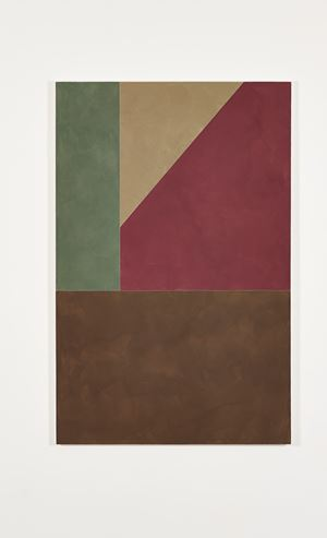 Untitled, Four Colours by Peter Joseph contemporary artwork