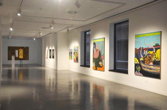 Exhibition view: Group Exhibition,Gazelli Art House, Baku (23 November 2019–29 February 2020). Courtesy Gazelli Art House.