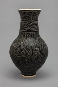 carved III by Shio Kusaka contemporary artwork ceramics