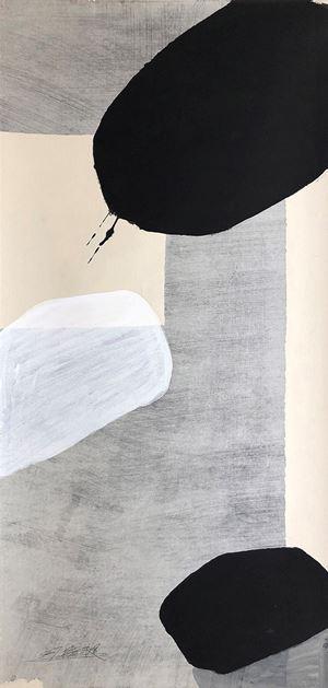 Riding on a hot air balloon in Sydney 我在悉尼的熱氣球上 by Yang Xiaojian contemporary artwork