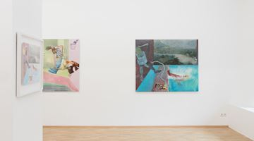 Contemporary art exhibition, Christopher Croft, Household Pets in a Digital World at Boutwell Schabrowsky Gallery, Munich