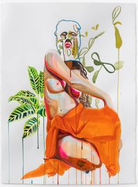 Guahi #4 by Gisela McDaniel contemporary artwork painting, works on paper, drawing