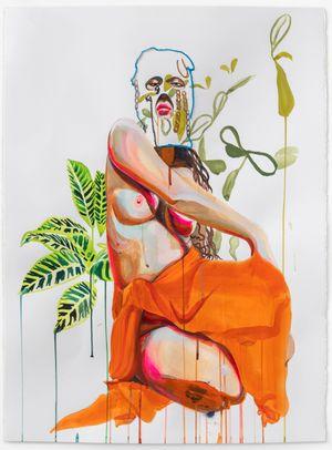 Guahi #4 by Gisela McDaniel contemporary artwork