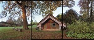 13.11.2000 Hinemihi, Clandon Park, Surrey, England. Nga Tohunga: Wero Taroi, Tene Waitere. by Mark Adams contemporary artwork