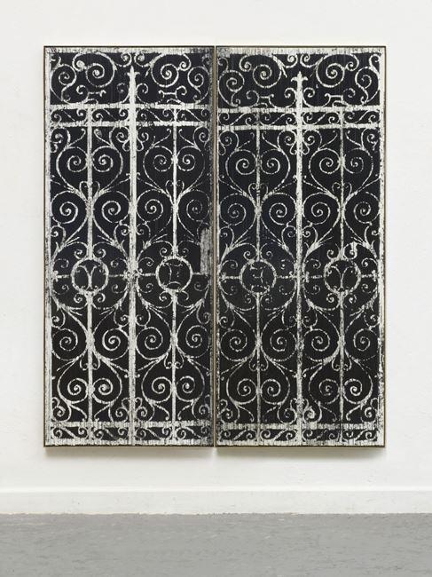 """Ich kochte ihm den Leim (E.N.)"""" by Gregor Hildebrandt contemporary artwork"""