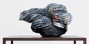 Vague moyenne pour Palissy by Johan Creten contemporary artwork