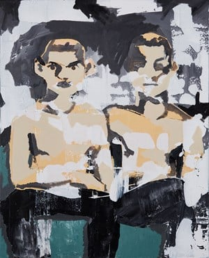 Two Boys by Kwon Chulhwa contemporary artwork