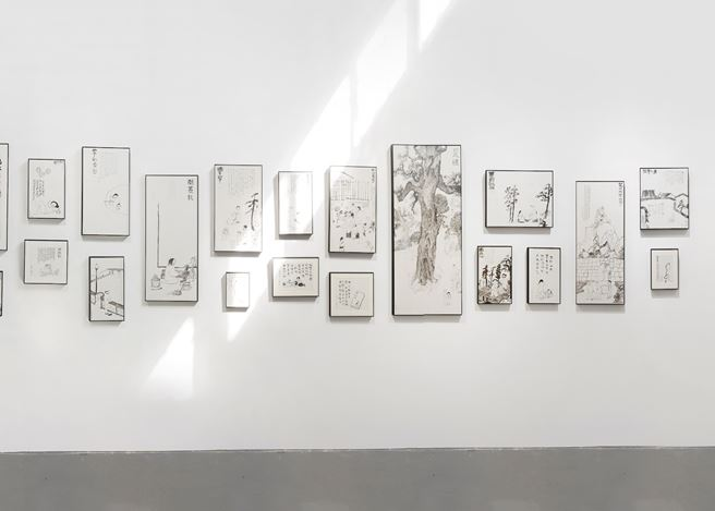 Exhibition view: Anusman, Market Street, Tabula Rasa Gallery, Beijing (16 March–4 May 2019). Courtesy Tabula Rasa Gallery.