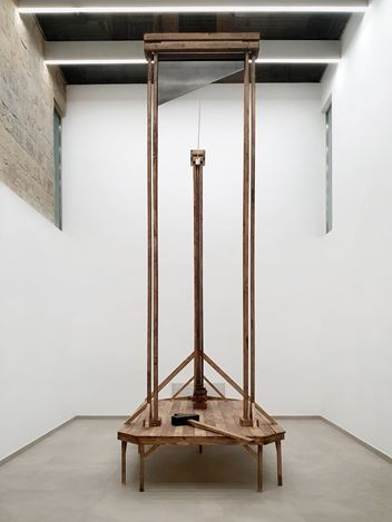 Exhibition view:Aaron Bezzina, Corpus Adflictum, Valletta Contemporary, Malta (1 November–4 December 2019). Courtesy Valletta Contemporary.