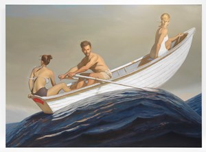 The Promised Land by Bo Bartlett contemporary artwork