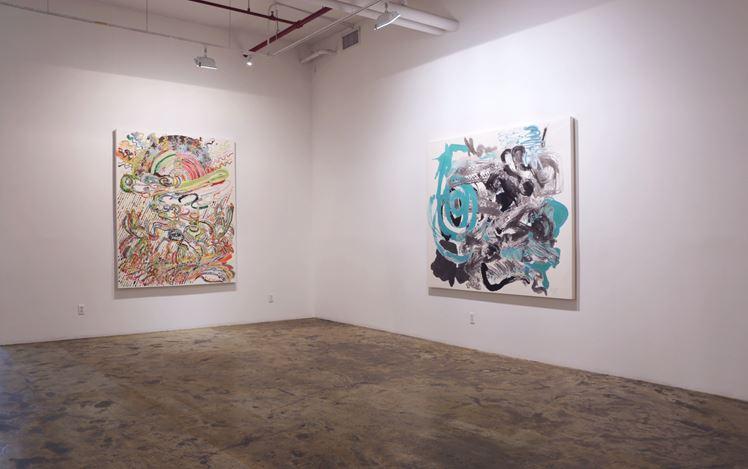 Exhibition view: Wu Jian'an, Infinite Labyrinth: New Works by Wu Jian'an, Chambers Fine Art, New York (8 September– 31 December 2019).Courtesy Chambers Fine Art.