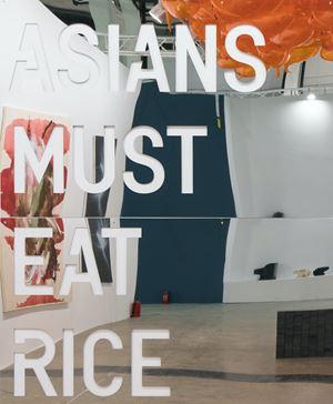 untitled 2018 (asians must eat rice) by Rirkrit Tiravanija contemporary artwork
