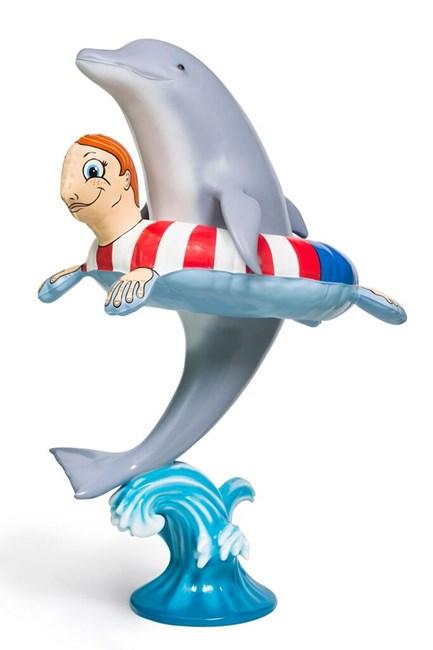 Dolphin Fun by Tony Tasset contemporary artwork