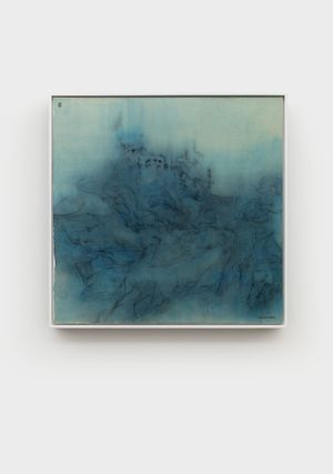 Recall the West's Indigo Palace 03 by Wang Shaoqiang contemporary artwork