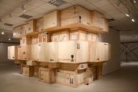 Concrete Affection - Zopo Lady by Kiluanji Kia Henda contemporary artwork installation