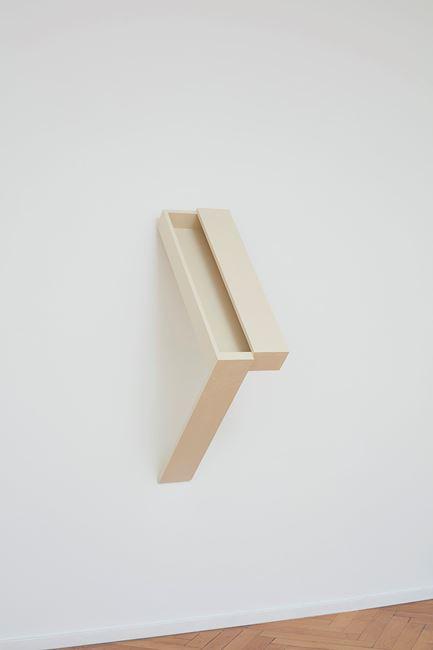 halb offen by Vaclav Pozarek contemporary artwork