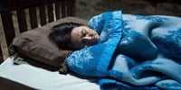 Blue by Apichatpong Weerasethakul contemporary artwork moving image
