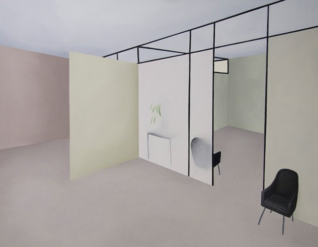 Semi-Transparent World by Stephanie Wilson contemporary artwork