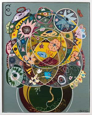 Seed of Consciousness by Keith Tyson contemporary artwork