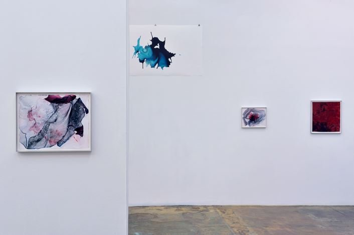 Exhibition view: Aditi Singh, So Much the Less Complete,Thomas Erben Gallery, New York (14 September–27 October 2018). Courtesy the artist and Thomas Erben Gallery.
