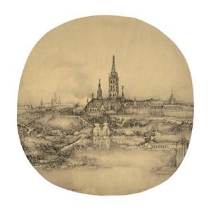 Budapest by Xu Jianguo contemporary artwork