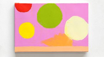 Contemporary art exhibition, Etel Adnan, Satellites and Planètes at Galerie Lelong & Co. Paris, Paris