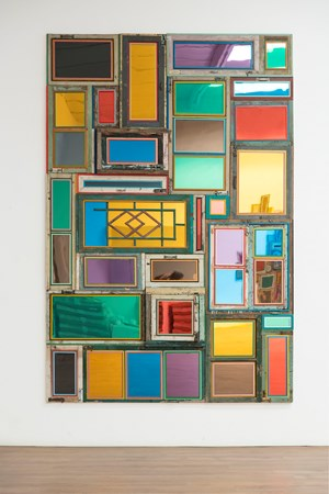 Usefulness of Uselessness - Rectangular Window No. 6 by Song Dong contemporary artwork
