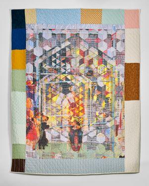Tumbling Blocks by Jesse Krimes contemporary artwork