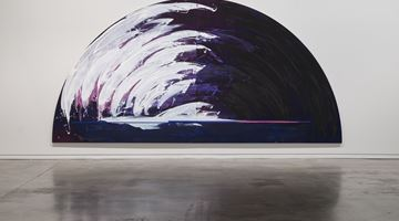 Contemporary art exhibition, Gretchen Albrecht, Light Breaks at Two Rooms, Auckland