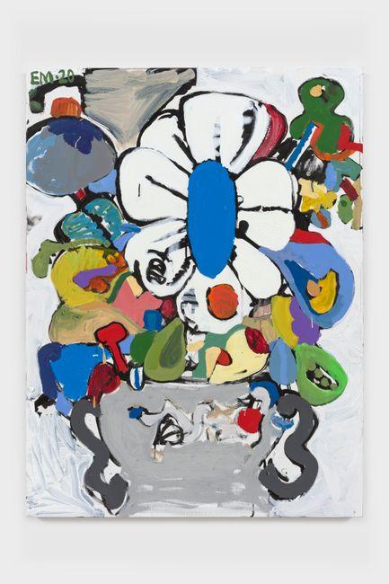 BAP Flower 14 by Eddie Martinez contemporary artwork