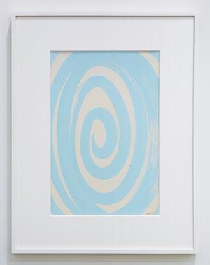 Spirale azzurra by Bruno Munari contemporary artwork