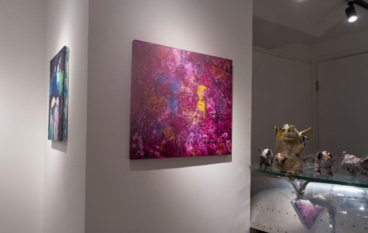 Exhibition view: Takashi Hara, PigNation—A Story of Humanity, A2Z Art Gallery, Hong Kong (12 January—17 February 2019). Courtesy A2Z Art Gallery.
