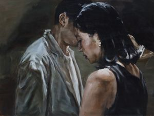 SYMPATHY by Chen Han contemporary artwork painting