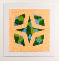 Solar Star by Erica van Zon contemporary artwork sculpture, textile