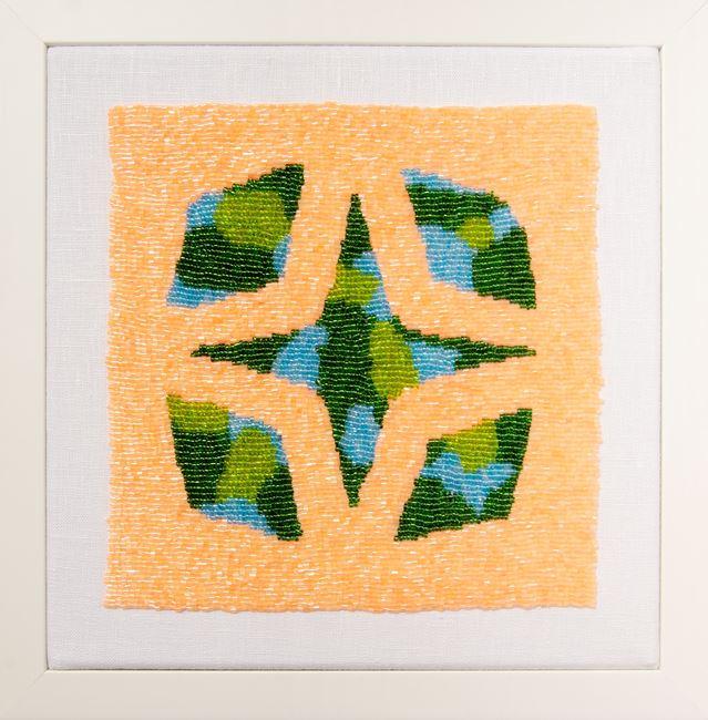 Solar Star by Erica van Zon contemporary artwork
