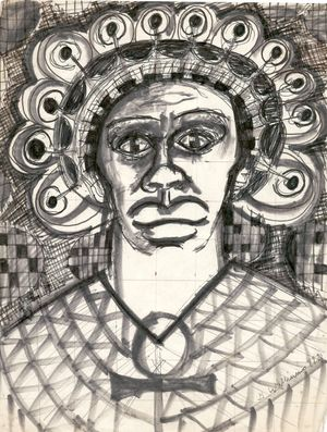 Sketch Live For Life by Gerald Williams contemporary artwork