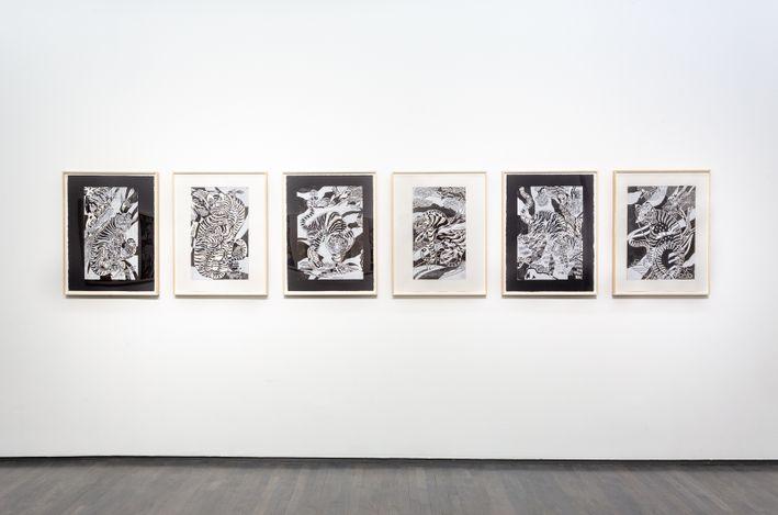 Exhibition view:Kour Pour, Familiar Spirits, Kavi Gupta, Washington Blvd, 2nd Floor, Chicago (3 April–27 June 2021). Courtesy Kavi Gupta.
