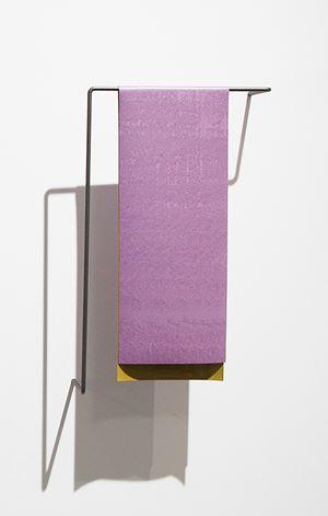 Mauve Ochre by Helen Calder contemporary artwork