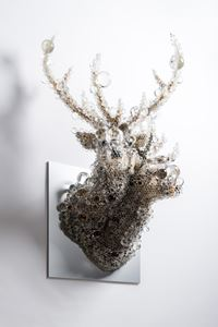 PixCell-Double Deer#9 by Kohei Nawa contemporary artwork mixed media