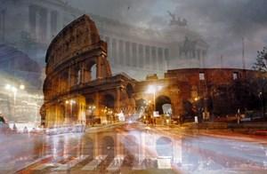 Roma (Colosseo notturno) by Davide Bramante contemporary artwork