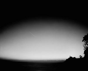 June 2004, Onaero Beach, Taranaki, looking north-east before dawn by Ann Shelton contemporary artwork