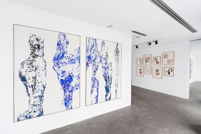 Exhibition view: Group Exhibition,I DO NOT CARE, A2Z Gallery, Paris (14 January–30 January 2020). Courtesy A2Z Art Gallery.