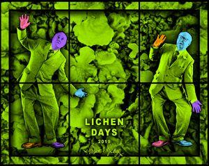 LICHEN DAYS by Gilbert & George contemporary artwork