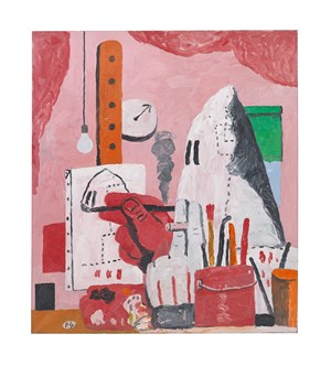 The Studio by Philip Guston contemporary artwork