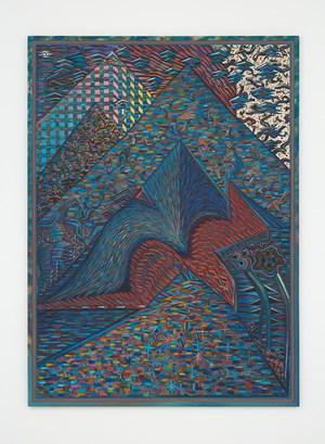 Water on Fire Bird by Zach Harris contemporary artwork
