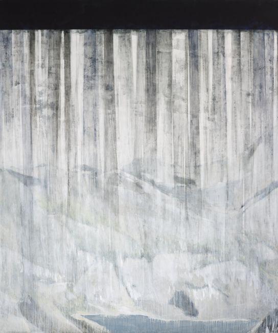 Rainy Mountain II by Iris Schomaker contemporary artwork
