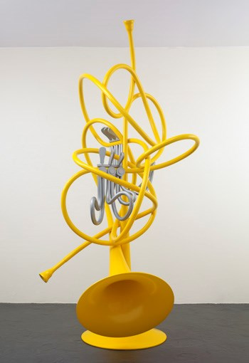 French Horns, Unwound and Entwined by Coosje Van Bruggen and Claes Oldenburg contemporary artwork