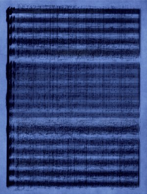The Old Tune by Idris Khan contemporary artwork