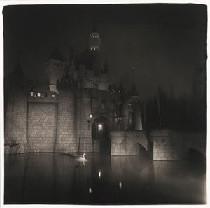 A castle in Disneyland, Cal. by Diane Arbus contemporary artwork