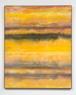 Specular reflection by Matt Arbuckle contemporary artwork painting, works on paper